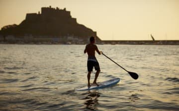 Stand Up Paddle Boarding at Gorey