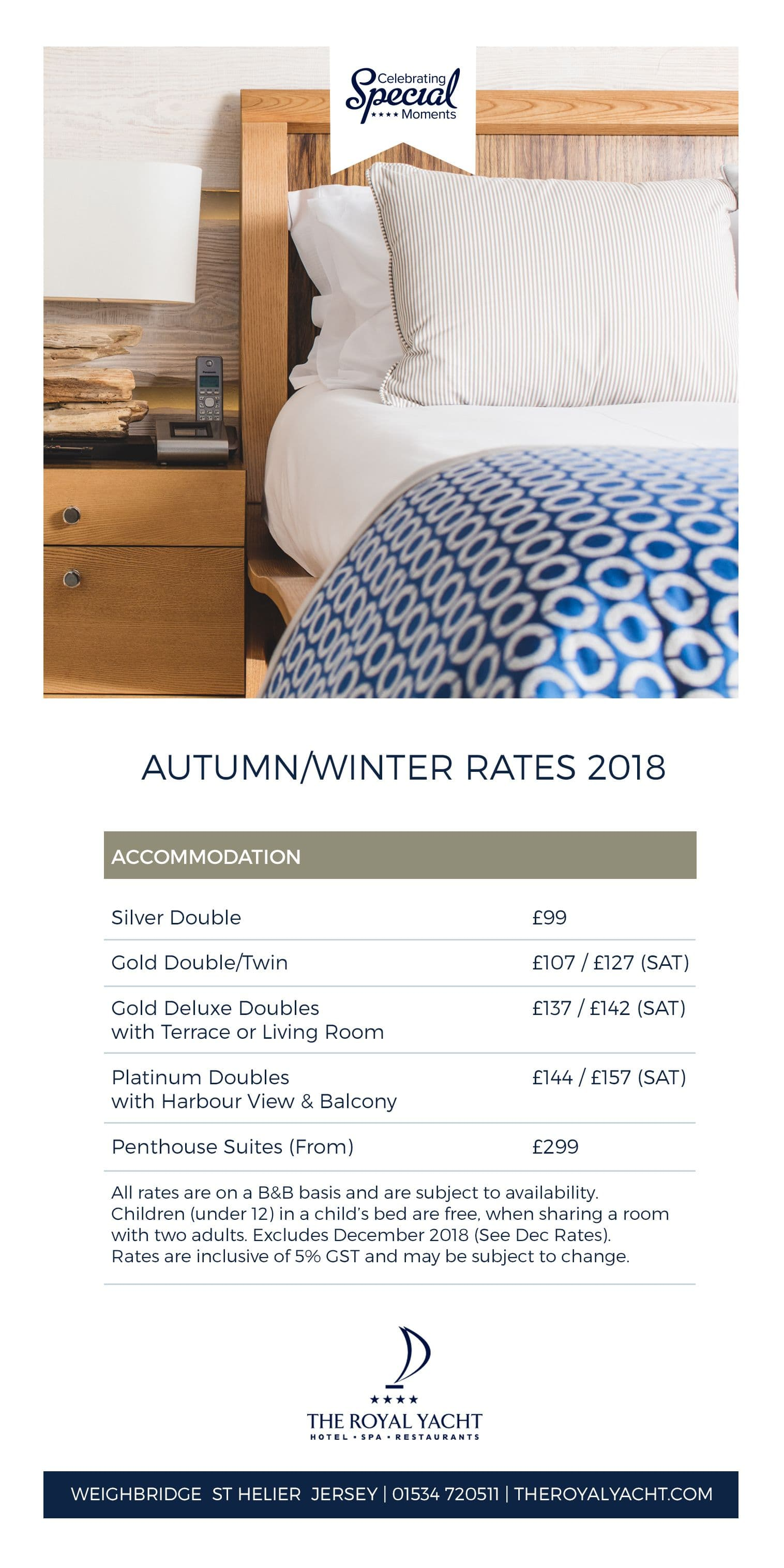 Autumn Rates 2018