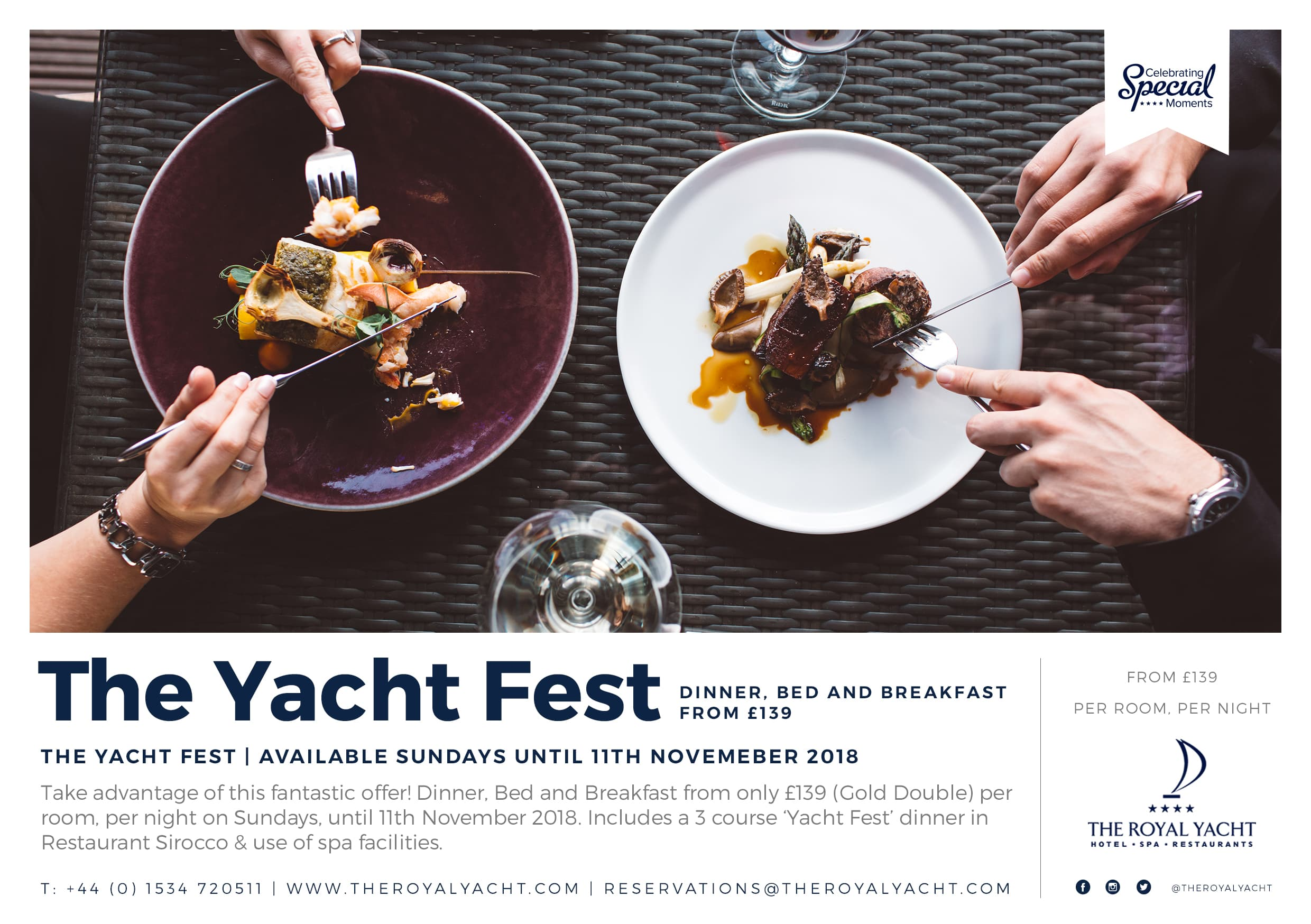 The Yacht Fest Sunday Stays
