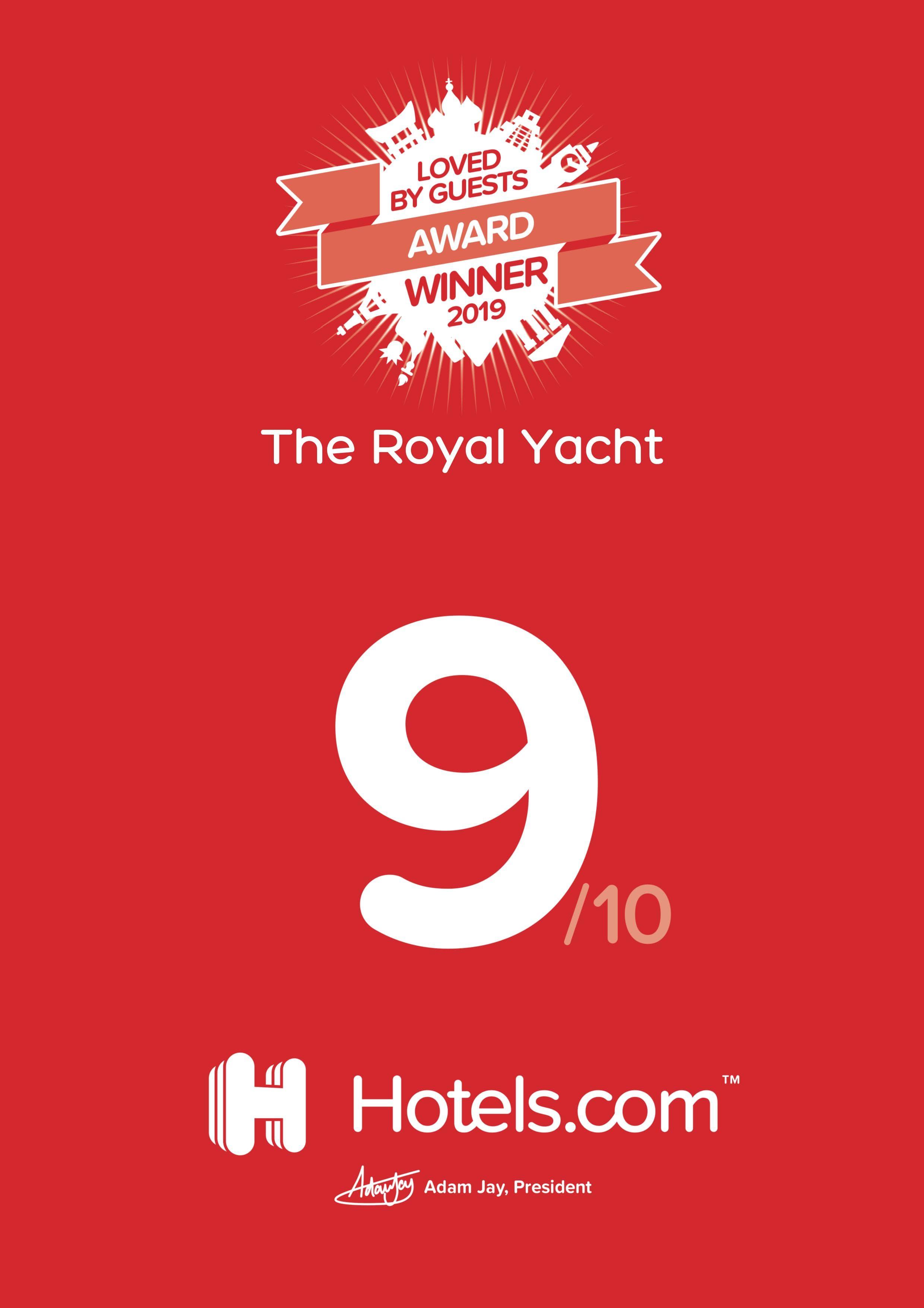 RY Hotels.com Winner